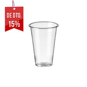 Pack de 100 copos - polipropileno - 220 ml - transparente