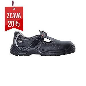 Bezpečnostné sandále Ardon® Firsan, S1P SRA, veľkosť 38, sivé
