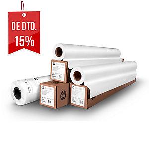 Folha de plotadora de papel branco alta 610mm x 50m. Formato 24 NAVIGATOR 80gr
