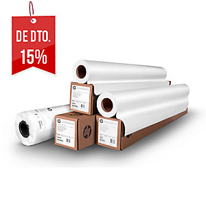 Folha de plotadora de papel branco alta 914mm x 50m. Formato 36 NAVIGATOR 90gr