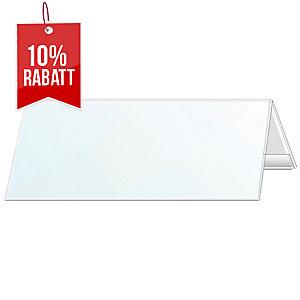 Tischnamensschild Durable 8053, 297 x 105/210mm