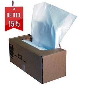 Pack de 50 sacos para destruidora de papel Fellowes - 94 L