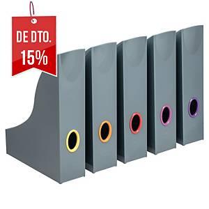 Pack de 5 porta-revistas Durable Varicolor - sortido