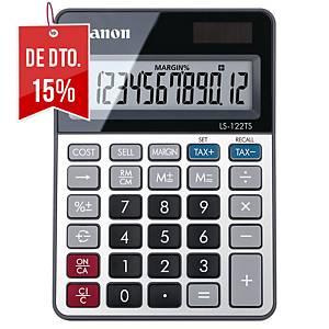 Calculadora de secretária Canon TS-122TS - 12 dígitos