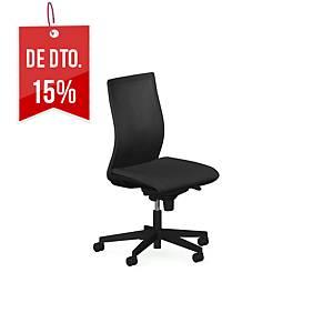 Cadeira com mecanismo sincronizado Intrata 013 - preto