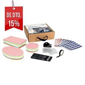 Kit de acessórios Sigel para quadro de tecido eletrostático Agile