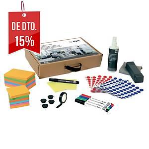 Kit de acessórios Sigel para quadro branco de vidro Agile