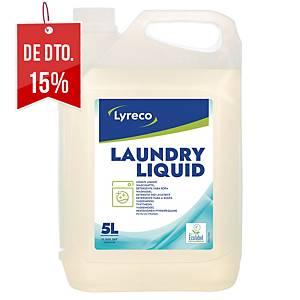 Detergente líquido para a roupa Lyreco - 5 L