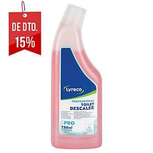 Gel desincrustante concentrado para WC Lyreco Pro - 750 ml