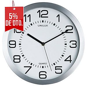 Reloj MOOM UNILUX aluminio color Plata