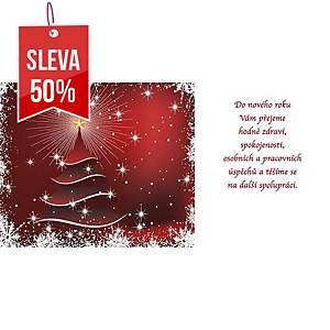 Novoroční přání Dekorace lucerna, 20 x 10 cm