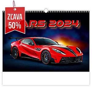 Cars - mesačné medzinárodné kalendárium, 14 listov, 45 x 31,5 cm