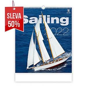 Sailing - měsíční mezinárodní kalendárium, 14 listů, 45 x 52 cm