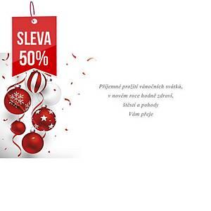 Novoroční přání Dekorace s koníkem, 20 x 10 cm