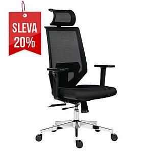 Manažerská židle Antares Edge, černá