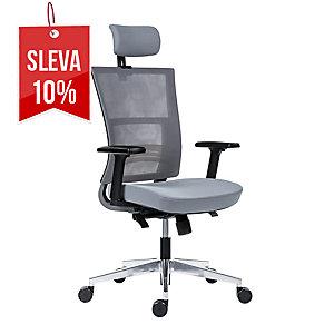 Kancelářská židle Antares Next, šedá