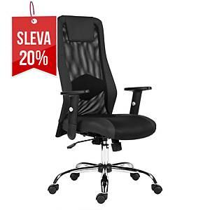 Kancelářská židle Antares Sander, černá