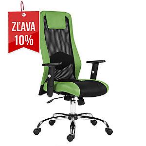 Kancelárska stolička Antares Sander, zelená