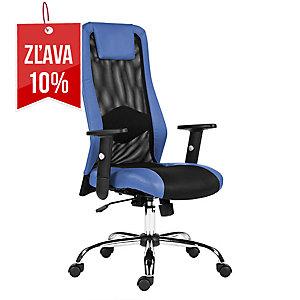 Kancelárska stolička Antares Sander, modrá