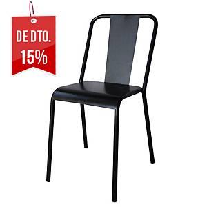 Cadeira office Vintage - preto