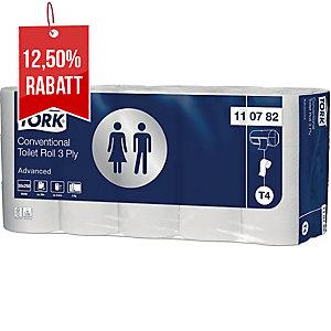 Toilettenpapier Tork 110782 Premium extra weich, 3-lagig, 250 Blatt, weiß, 30 St