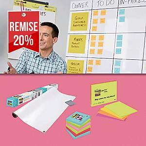 Pack solutions de réunion Post-It - Méthode Agile