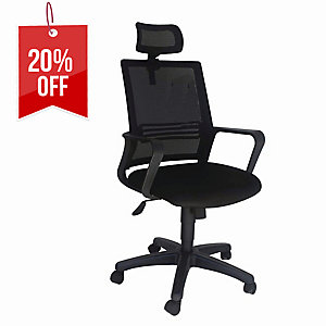 Artrich Art-909 MB Mesh Medium Back Chair