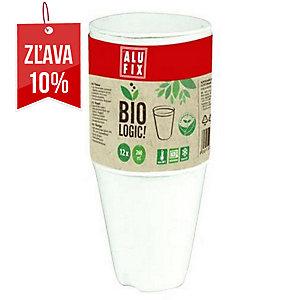 Alufix Biologic pohár, 260 ml, 12 kusov