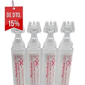 Pack 30 soros fisiológicos dose única Visclean 5 ml