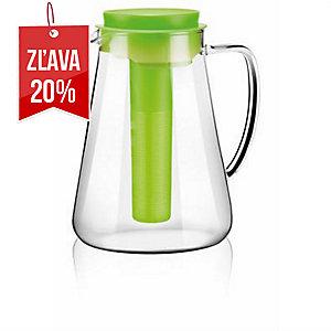 Tescoma džbán s lúhovaním a chladením, Teo, sklo, 2.5 l, zelený