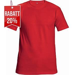 CERVA TEESTA T-Shirt mit kurzen Ärmeln, Größe L, rot