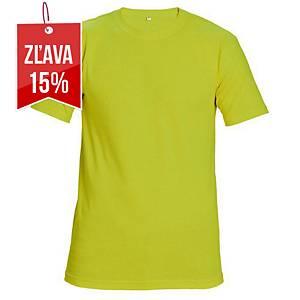 Reflexné tričko s krátkym rukávom Cerva Teesta, veľkosť L, žlté