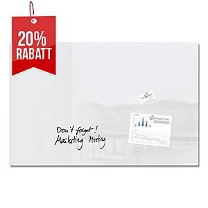 Sigel Artverum GL141 Board, Glas, magnetisch 100 x 65 cm, weiß
