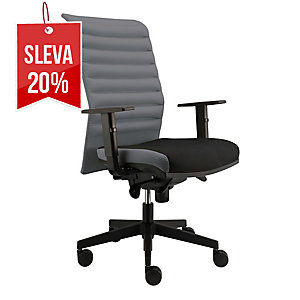Alba Reflex VIP kancelářská židle, šedá