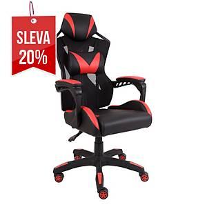 Alba Winner herní židle, červená / černá