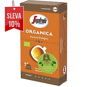 Organica kompostovatelné kapsule 10ks