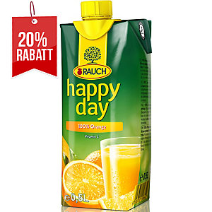 Happy Day Fruchtsaft, Orange, 0.5 l