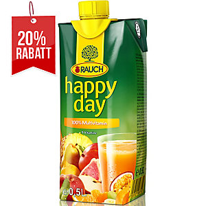 Happy Day Fruchtsaft, Multivitamin, 0.5 l