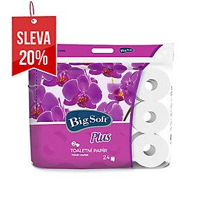 Big Soft Plus toaletní papír 2-vrstvý, 24 ks v balení
