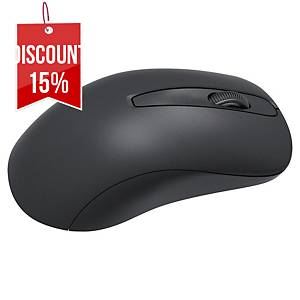 MediaRange Optical Mouse Wireless 3-Button Black