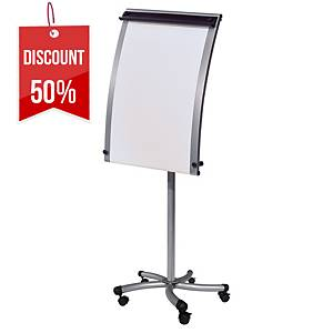 Cep Curved Conference Easel Grey
