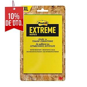 Pack de 2 block de notas adhesivas Post-it Extreme  - surtidos - 114 x 171 mm