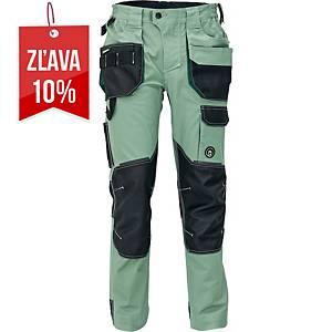 Pracovné nohavice CERVA DAYBORO, veľkosť 50, svetlozelená