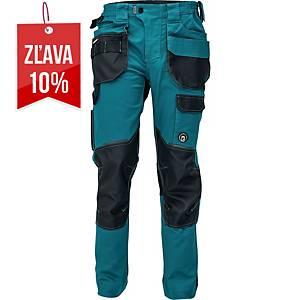 Pracovné nohavice CERVA DAYBORO, veľkosť 50, tmavozelená