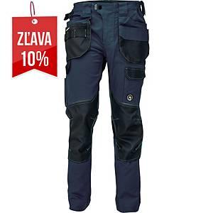 Pracovné nohavice CERVA DAYBORO, veľkosť 56, tmavomodrá