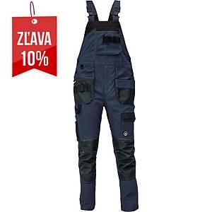 Pracovné nohavice s náprsenkou CERVA DAYBORO, veľkosť 52, tmavomodré