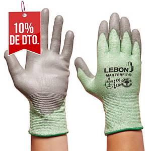 Caja de 10 pares de guantes Lebon Masterfit - talla 8