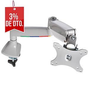 Brazo para monitor Kensington SmartFit® - altura ajustable - gris plata
