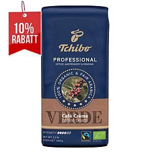 Kaffee Tchibo Professional 505483, Bio Fairtrade Caffee Crema, Bohnen, 1000g