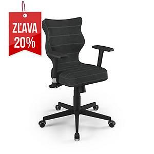 Kancelárska stolička Entelo Good Chair  Nero, čierna